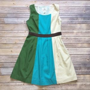 Anthropologie • Tabitha Colorblock Dress
